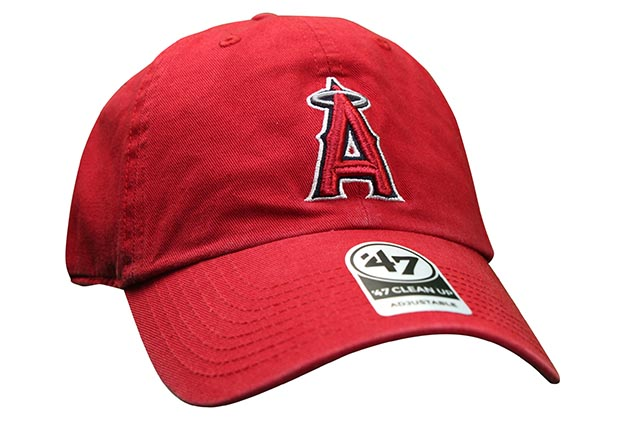 47 BRAND LOS ANGELES ANGELES 47' CLEAN UP CAP(RED)