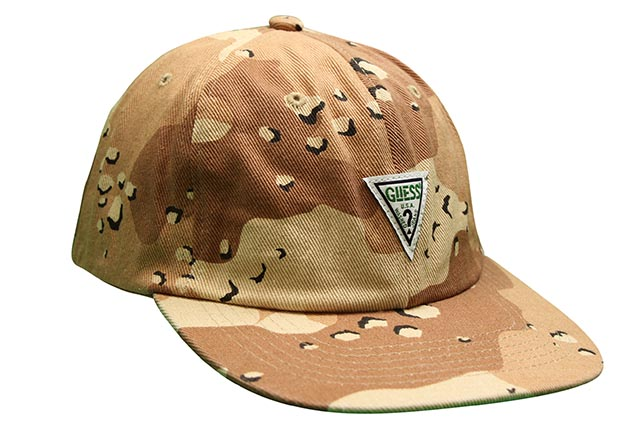 GUESS GREEN LABEL TRIANGLE LOGO CAP(DESERT CAMO)