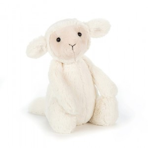 JELLYCAT I am Medium Bashful Lamb (BAS3LUS) ヒツジ ぬいぐるみ