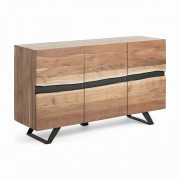 IRVIN Sideboard 148x85 metal wood acacia