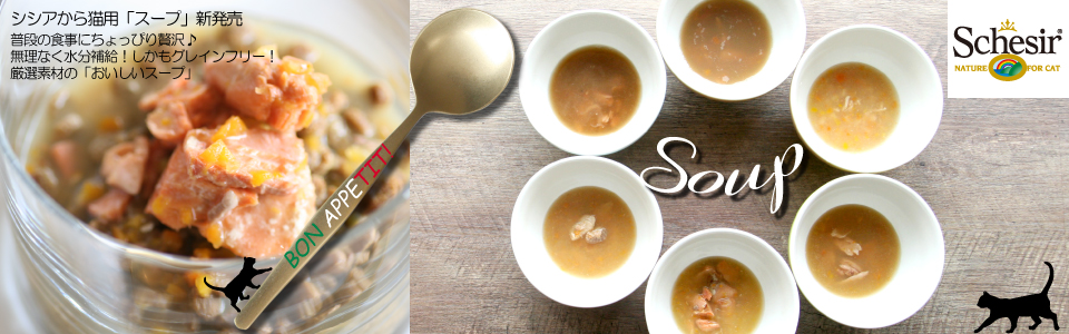 Schesir Cat GrainFree Soup Line