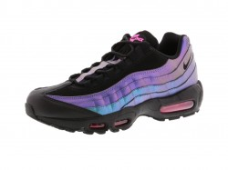 【20%OFF】NIKE AIR MAX 95 PRM - BLACK/LASER FUCHSIA