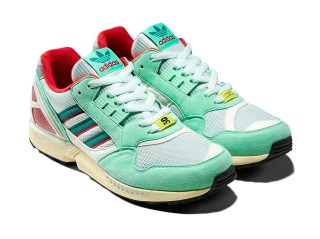 【20%OFF】adidas Consortium ZX9000 - MINT/SCARLET/YELLOW